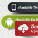 Appstore, Android, Dowload Buttons Pack - GraphicRiver Item for Sale