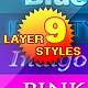 amazing rR layer styles for text - GraphicRiver Item for Sale