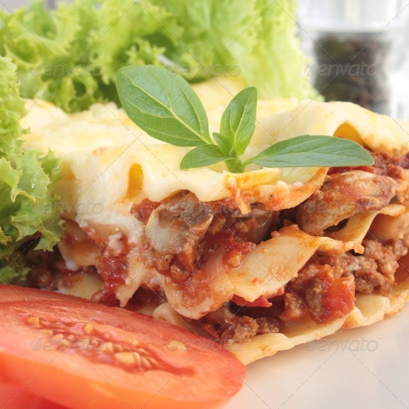 Lasagna - Stock Photo - Images