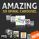 Amazing 3D Spiral Carousel AS2 - ActiveDen Item for Sale