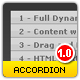 Accordion - Powerfull XML Accordion V.1 - ActiveDen Item for Sale
