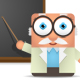 Square Professor Presentation - GraphicRiver Item for Sale