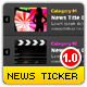 News Widget - XML Scrolling Accordion  - ActiveDen Item for Sale