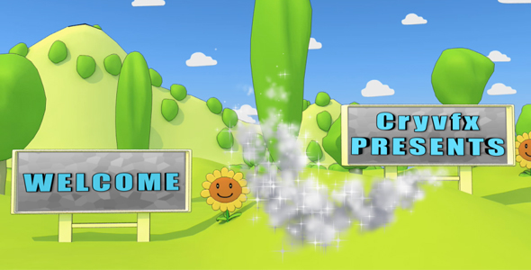 After Effects Project - VideoHive Cartoon Park 3D Animation 129857