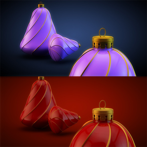 3DOcean Christmas Decoration HiRes 14 1037403
