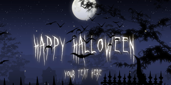 After Effects Project Files Halloween Night Videohive