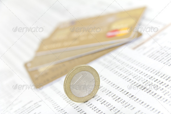 Credit Cards and Debts - Stock Photo - Images