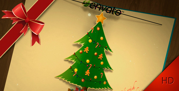 After Effects Project - VideoHive Greeting Christmas Holiday 1044516