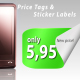 Collection of Sticker labels &amp;amp; Price tags (AE CS4) - VideoHive Item for Sale