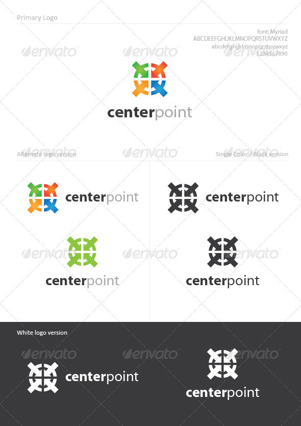 Center Point - Symbols Logo Templates
