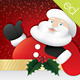 Jolly Santa Christmas Card Design - GraphicRiver Item for Sale