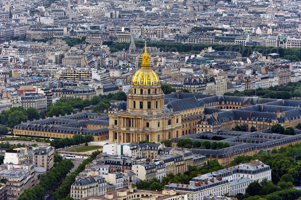 Church Saint-Louis des Invalides - Stock Photo - Images