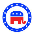 Republican button - PhotoDune Item for Sale