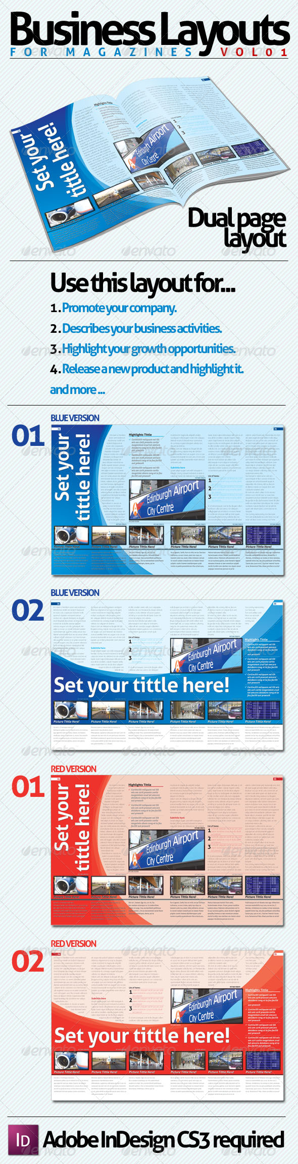 GraphicRiver Business Layouts VOL01 131655