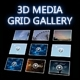 3D IMAGE/MEDIA GRID/WALL GALLERY - ActiveDen Item for Sale