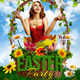Easter Party Flyer Template-Graphicriver中文最全的素材分享平台
