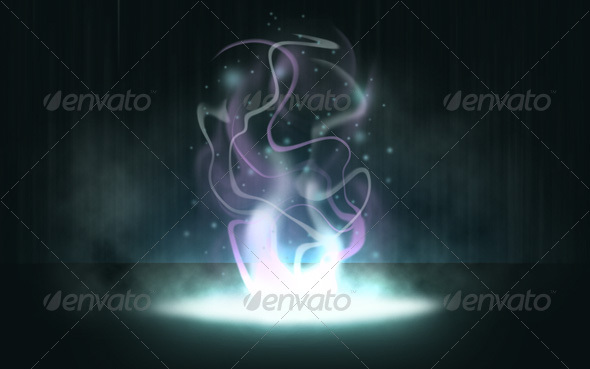Magic Smoke GraphicRiver - Graphics -  Backgrounds  Miscellaneous 33016