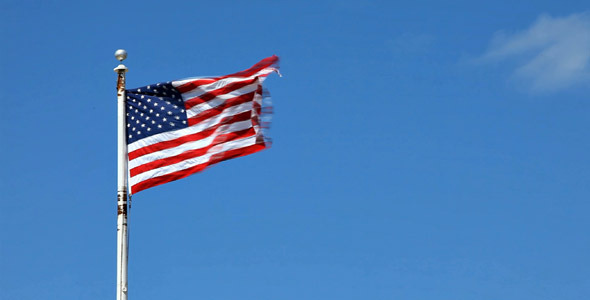 American Flag VideoHive Stock Footage  Holidays 1065121