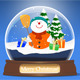Snowglobe and Snowman - ActiveDen Item for Sale