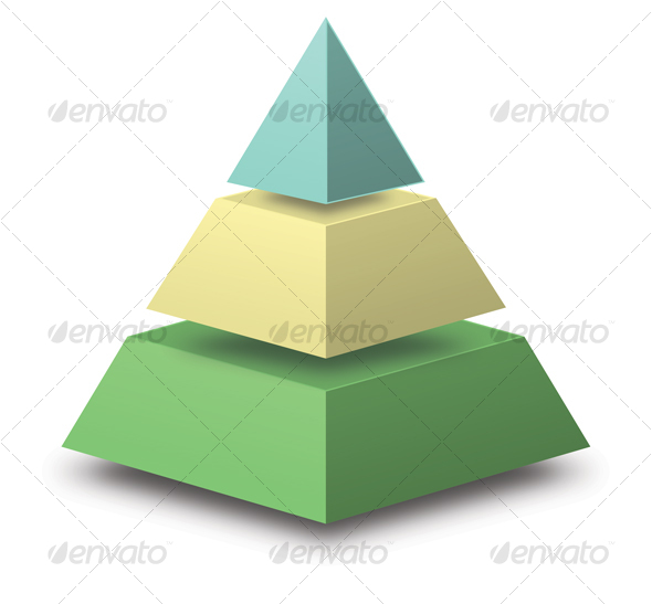 100 000 pyramid template powerpoint