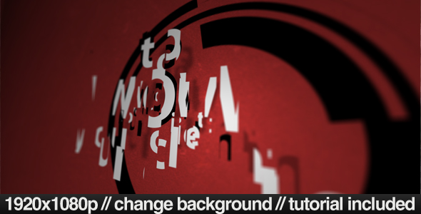 After Effects Project - VideoHive Red Scatter 132864