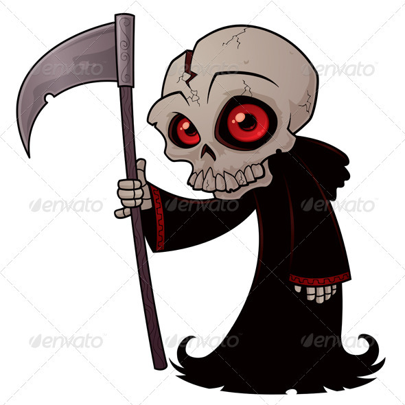 Little Grim Reaper - Monsters Characters