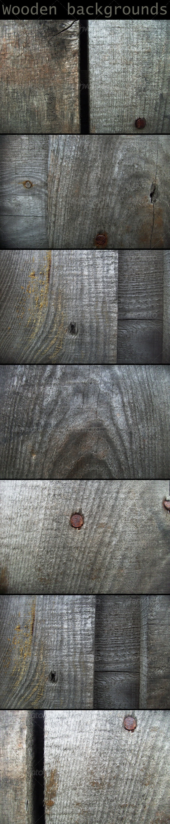 Wooden backgrounds - Wood Textures