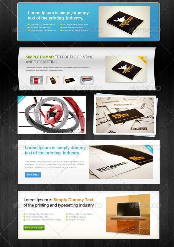 GraphicRiver 6 Web ShowCases 131995