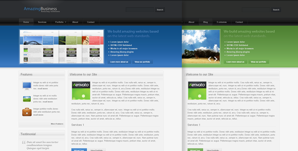 Amazing Business - Web 2.0 Theme