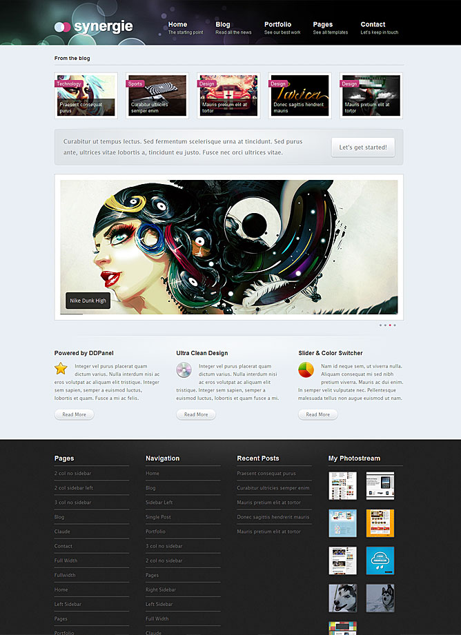 Synergie Premium Wordpress Theme