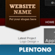 Red &amp;amp; Black Company Portfolio Layout - ThemeForest Item for Sale