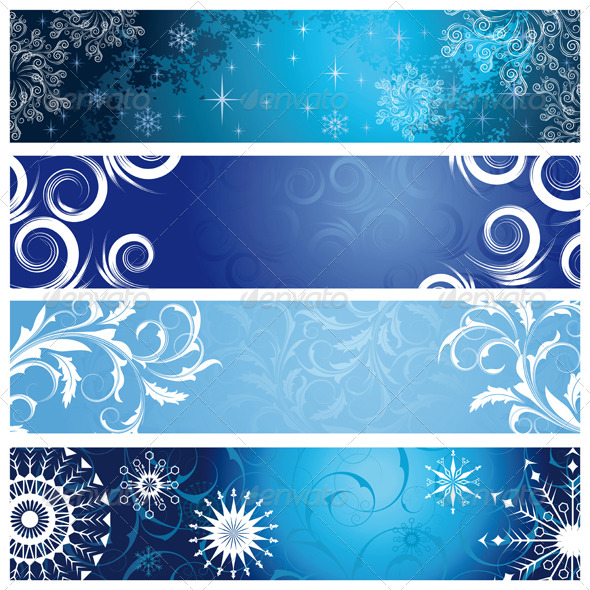 GraphicRiver Winter banners 133959