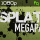 Splatter Megapack - VideoHive Item for Sale