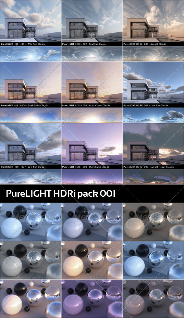 PureLIGHT HDRi Collection 01 - 3DOcean Item for Sale