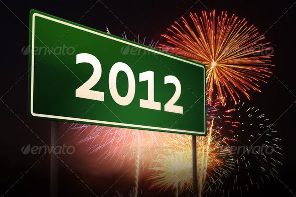 Sign 2012 - Stock Photo - Images