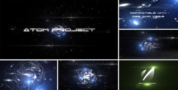 Atom VideoHive -   Titles  Space 1048931