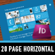 Metro I  20 Page horizontal Sales Brochure - GraphicRiver Item for Sale