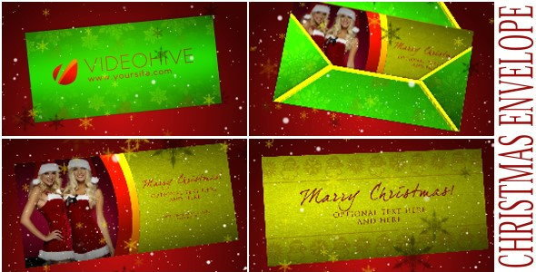 After Effects Project - VideoHive Christmas Envelope 1051926