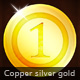 1 Gold . 2 Silver .  3 Copper . - GraphicRiver Item for Sale