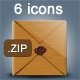 6 icons for web - GraphicRiver Item for Sale