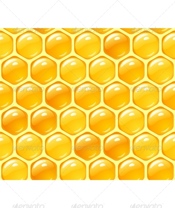 GraphicRiver Vector honey background 134958