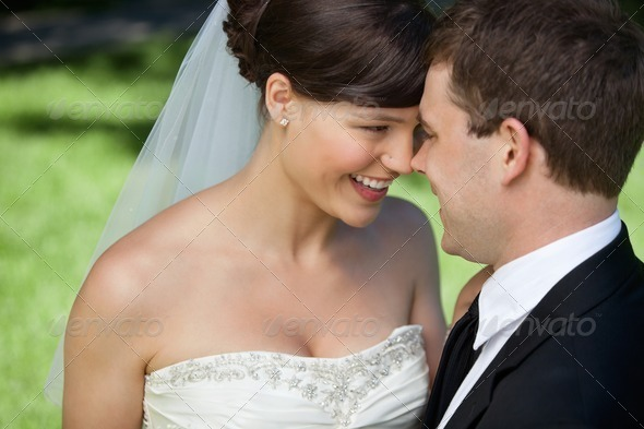 Newly Married Couple - Stock Photo - Images