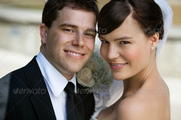 Young Married Couple - Stock Photo - Images
