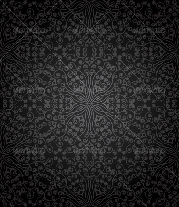 GraphicRiver Seamless floral pattern 135050