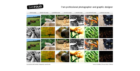 SANFOLIO - Photography Creative