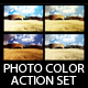 Photo Color Action Set - GraphicRiver Item for Sale