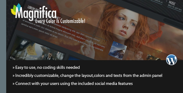 Magnifica | Blog, News & Magazine Theme - ThemeForest item page