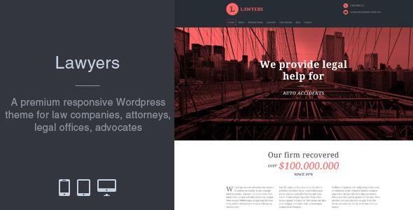 Lawyers - Responsive Business Wordpress Theme by matchthemes ...