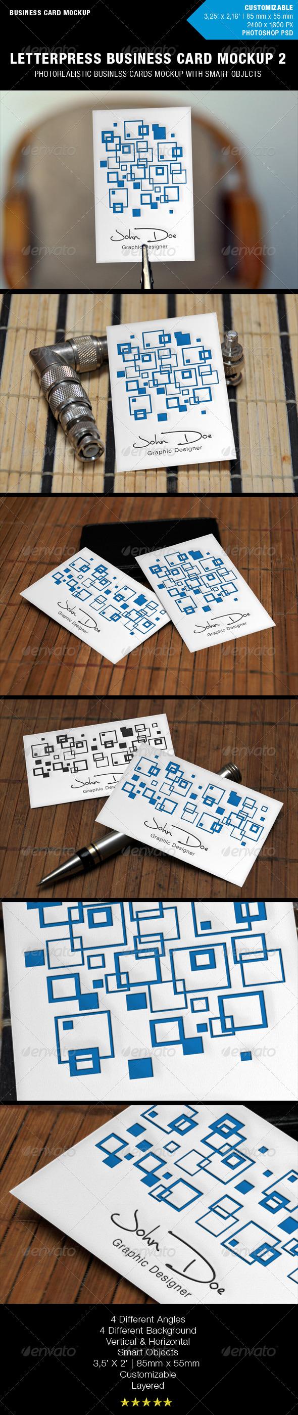 GraphicRiver Letterpress Business Card Mockup 2 1097295