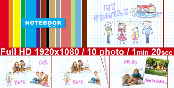 VideoHive Kids drawing 1060532